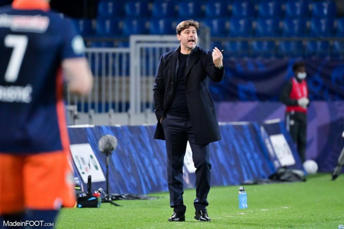 Mauricio Pochettino a tenu à garder son groupe concerné avant d'affronter Montpellier