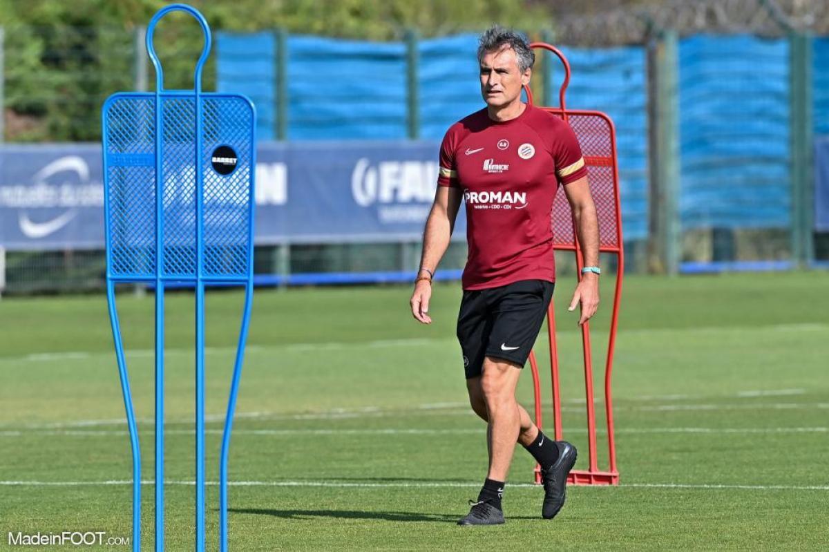 Olivier Dall'Oglio à l'entraînement