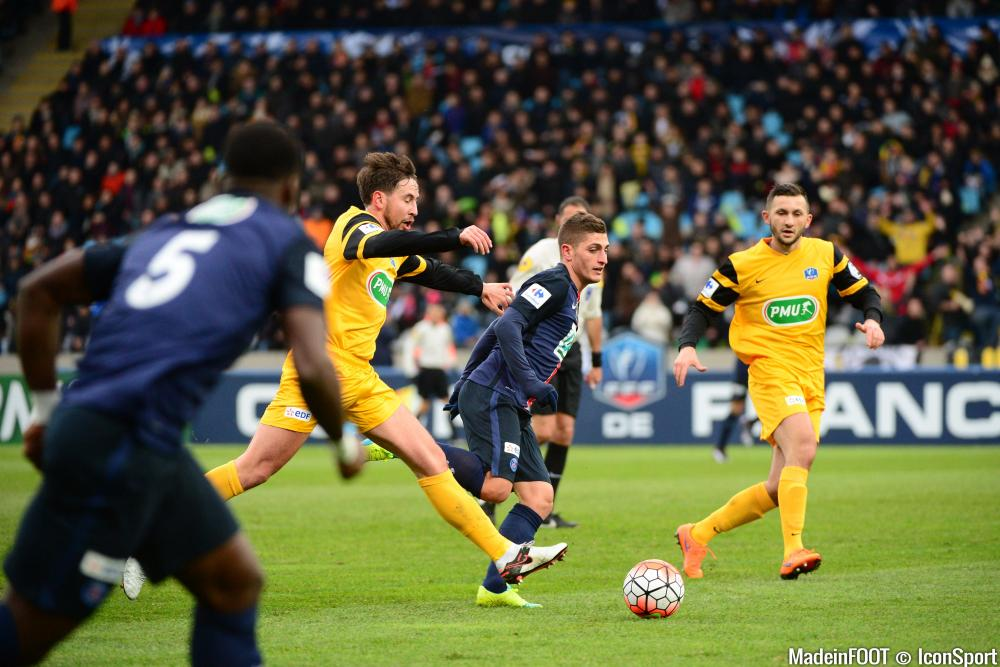 Le PSG a assuré le strict minimum face à l'ES Wasquehal (0-1), ce dimanche après-midi.