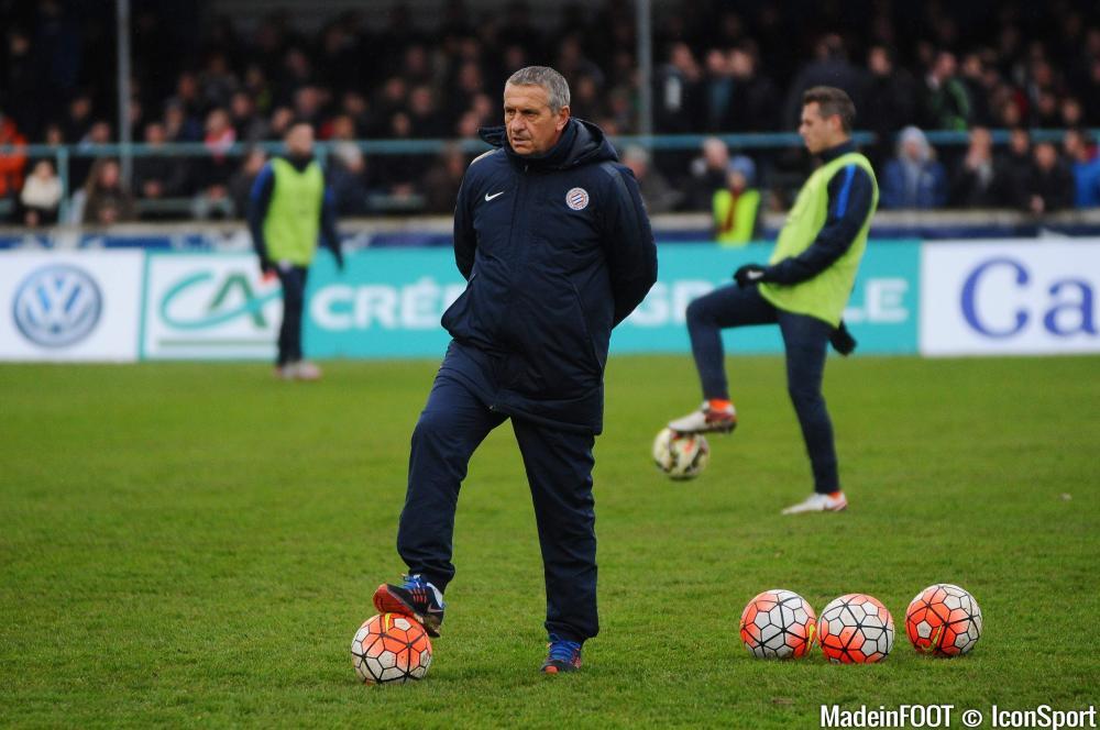 Le nouvel entraîneur de Montpellier va garder son groupe intact