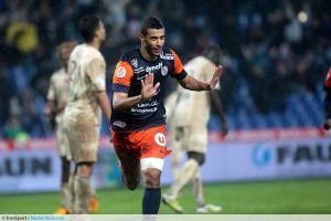 Younès Belhanda a évolué durant quatre saisons sous les couleurs du MHSC, pour 144 matchs disputés