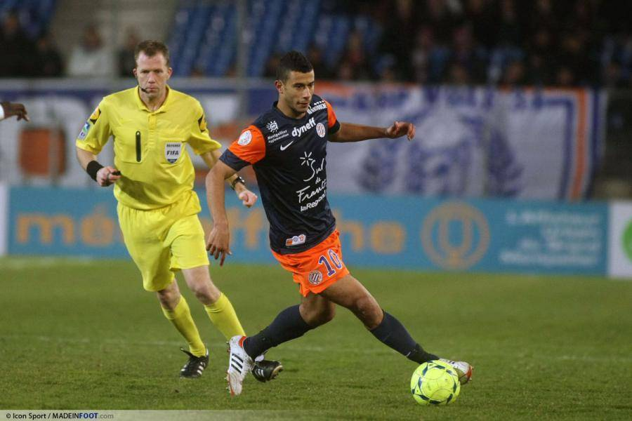 Younès Belhanda a évolué durant quatre saisons sous les couleurs du MHSC, de 2009 à 2013