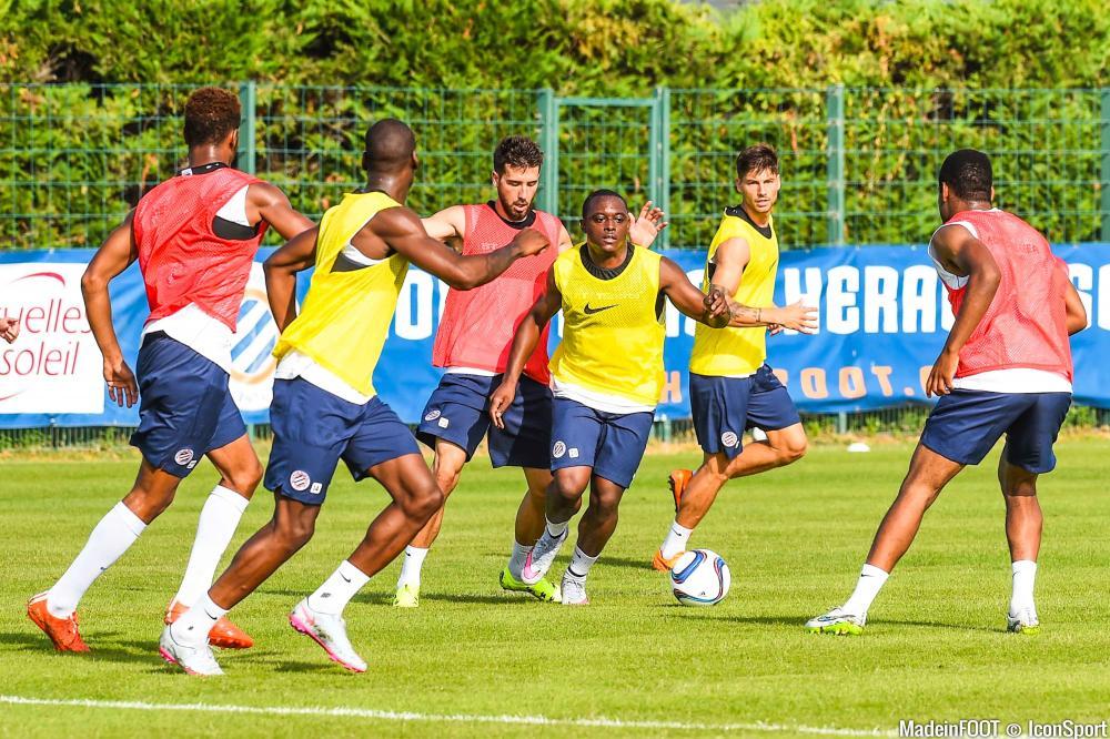 Les joueurs de Montpellier ont participé à une dernière opposition interne ce samedi matin