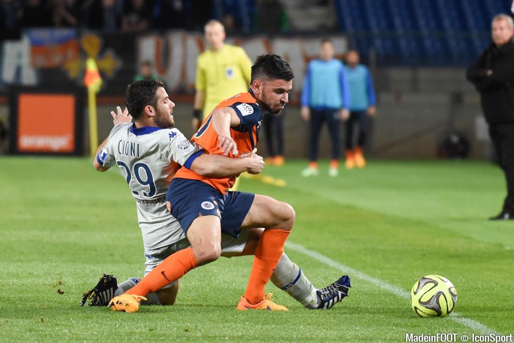 Sanson et le MHSC ont dominé le SC Bastia (3-1), ce samedi soir.