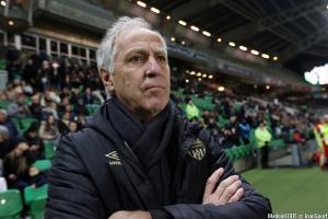 René Girard, l'entraîneur du Paris FC (Ligue 2).