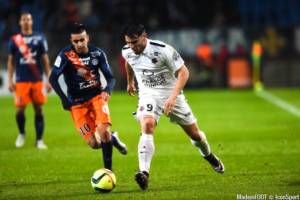 Caen et Montpellier sont de nouveau à la lutte