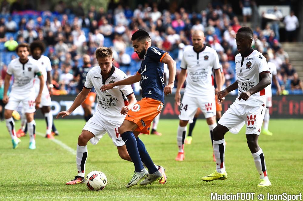 Ryad Boudebouz face à Nice, en début de saison.