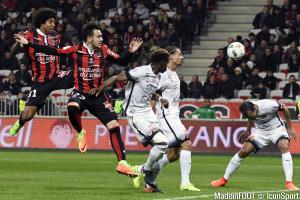 Daniel Congré a connu sa première titularisation de l'année à Nice.