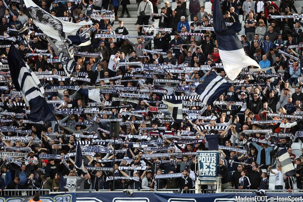 Les supporters de Bordeaux