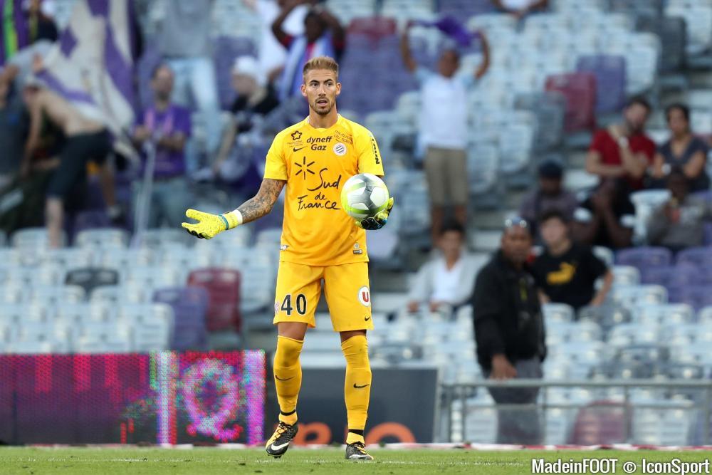 Benjamin Lecomte sort d'une belle saison à Montpellier.