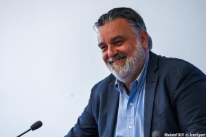Laurent Nicollin, le président du MHSC.