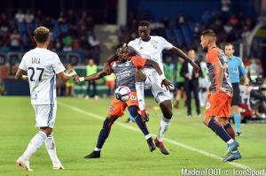 Montpellier s'est incliné face à Strasbourg sur le score de 2-1.