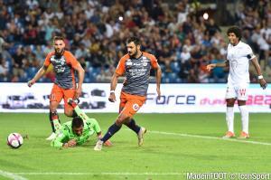 Andy Delort et Gaëtan Laborde, les attaquant du Montpellier HSC.