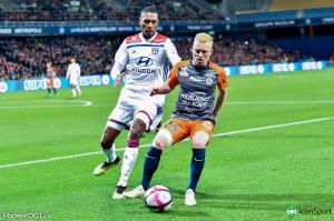Florent Mollet, le milieu de terrain offensif du Montpellier HSC.