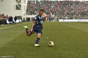 Mathias Suarez, le défenseur latéral droit du Montpellier HSC.