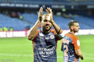 Vitorino Hilton, le défenseur central et capitaine du Montpellier HSC.