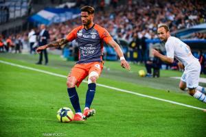 Pedro Mendes, le défenseur central du Montpellier HSC.