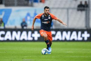 Gaëtan Laborde, attaquant de Montpellier