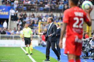 Le groupe du Montpellier HSC pour la réception de l'AS Monaco.