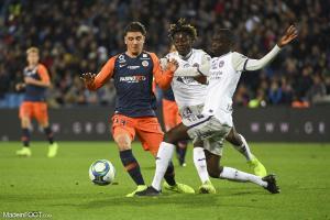 Joris Chotard, le milieu de terrain du Montpellier HSC.
