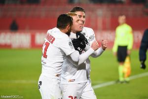 L'album photo du match entre le Dijon FCO et le Montpellier HSC.