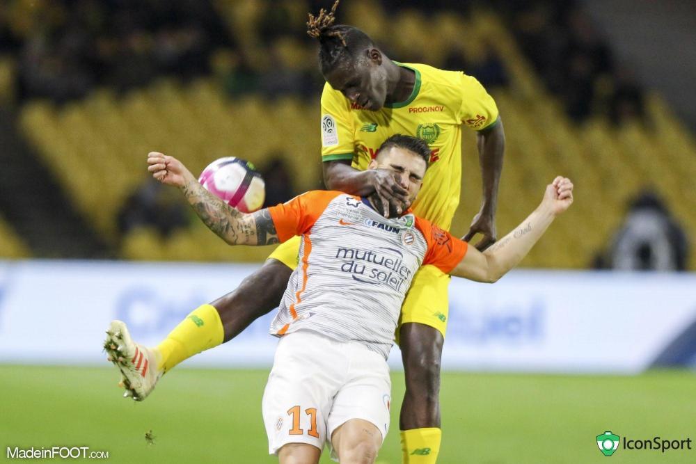 À l'image de Kara Mbodji sur Delort, Nantes a pris le meilleur sur Montpellier.