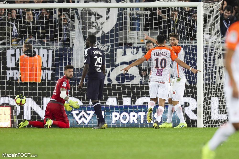 Montpellier renoue avec le succès à Bordeaux.