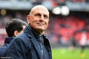 Michel Der Zakarian, l'entraîneur du Montpellier HSC.