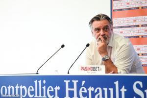Laurent Nicollin, le président du Montpellier HSC.