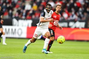 Gaëtan Laborde, l'attaquant du Montpellier HSC.