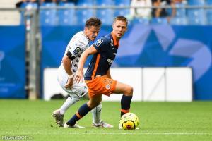 Arnaud Souquet, le défenseur latéral du Montpellier HSC.