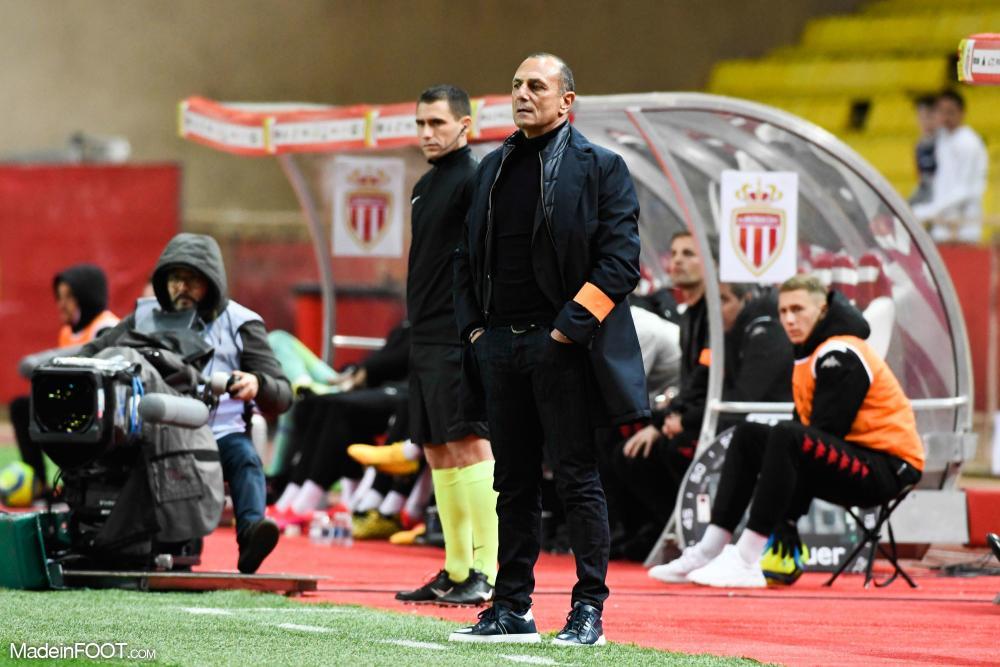 Le groupe du Montpellier HSC pour le déplacement sur le terrain de l'AS Monaco.