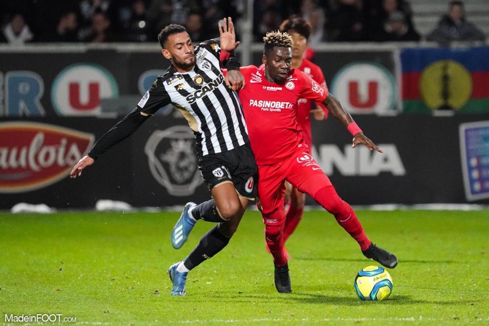 Ambroise Oyongo, le défenseur latéral gauche du Montpellier HSC.