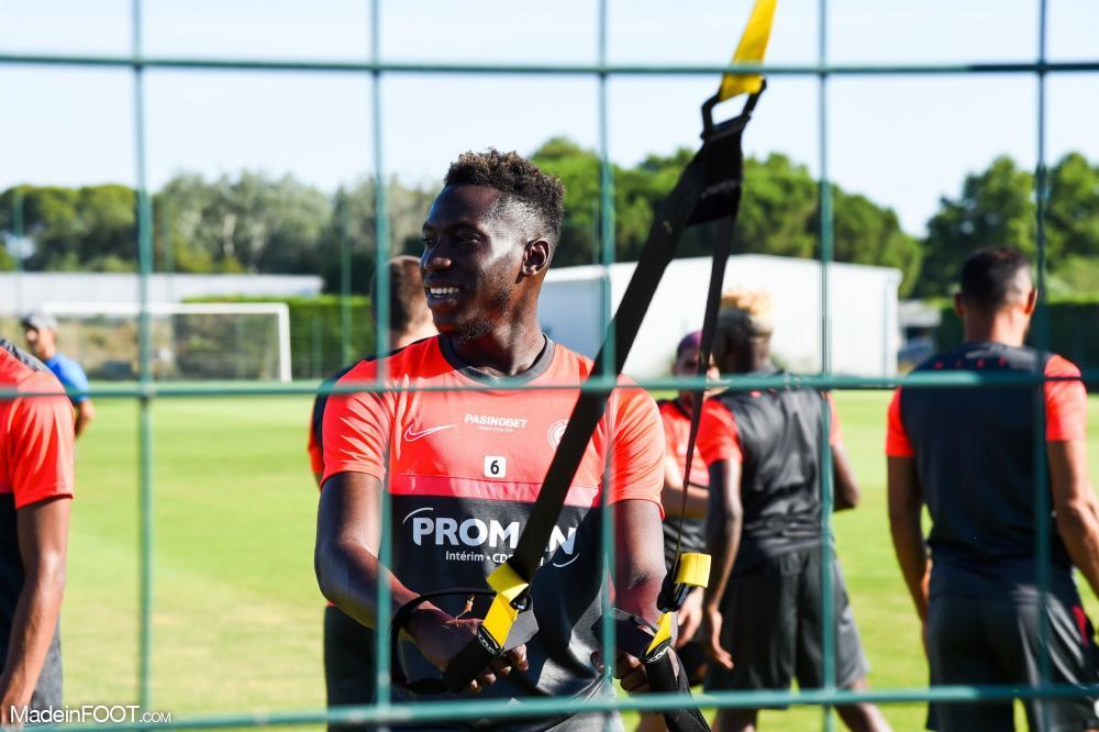 Junior Sambia sous les couleurs du MHSC