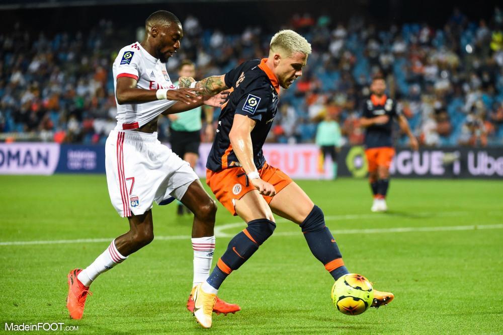 Mihailo Ristić, le défenseur latéral gauche du Montpellier HSC, est entré en jeu à la 86ème minute.