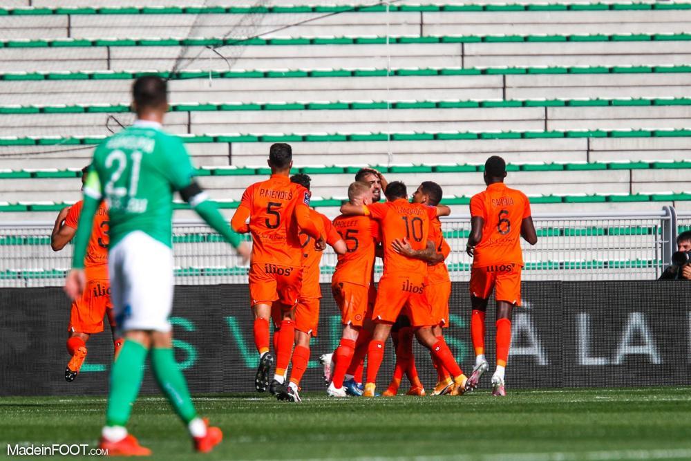 Le Montpellier HSC s'est imposé sur la pelouse de l'AS Saint-Etienne (0-1), ce dimanche après-midi en Ligue 1.