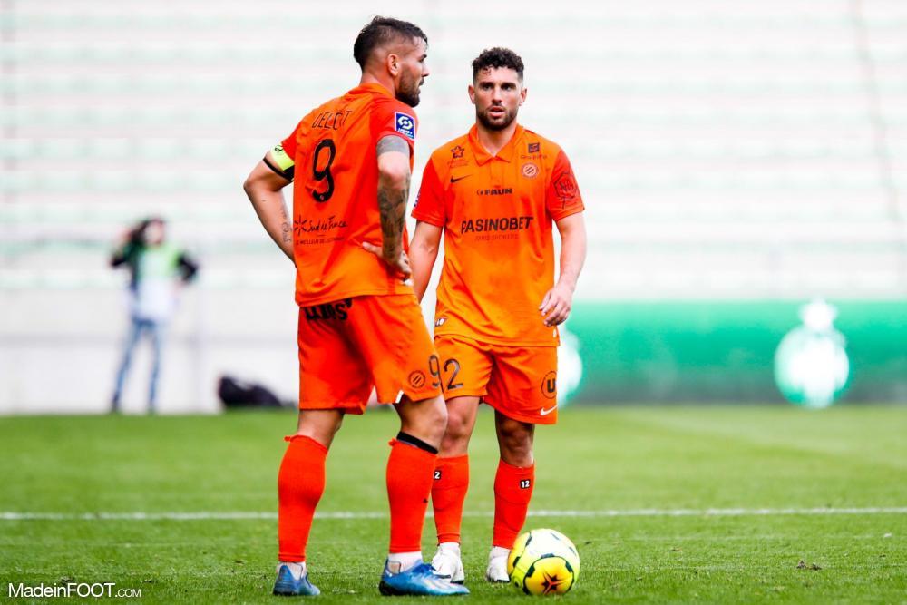 Les compos officielles du match entre le Montpellier HSC et l'AS Saint-Etienne.