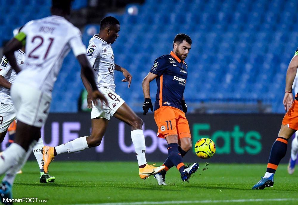 Montpellier s'incline face à Metz