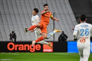 Andy Delort, l'attaquant du Montpellier HSC.