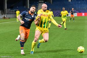 Andy Delort, l'attaquant du Montpellier HSC.