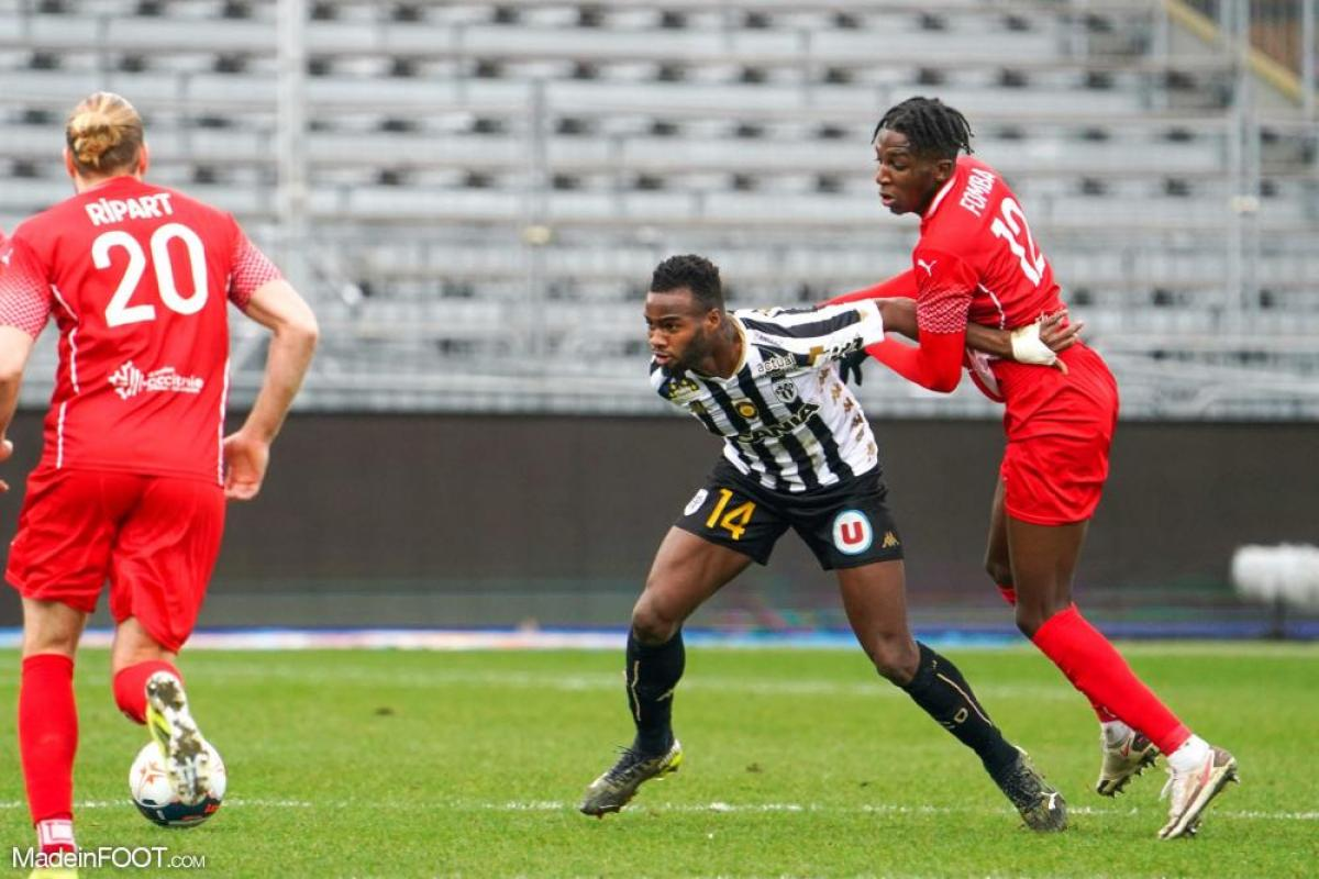 Lassana Coulibaly, le milieu de terrain du SCO Angers.