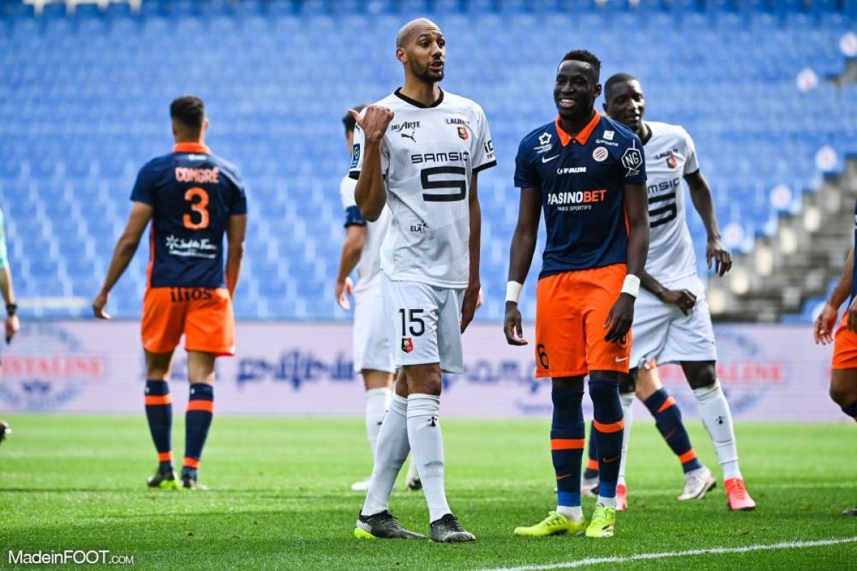 Junior Sambia, le milieu de terrain du Montpellier HSC.