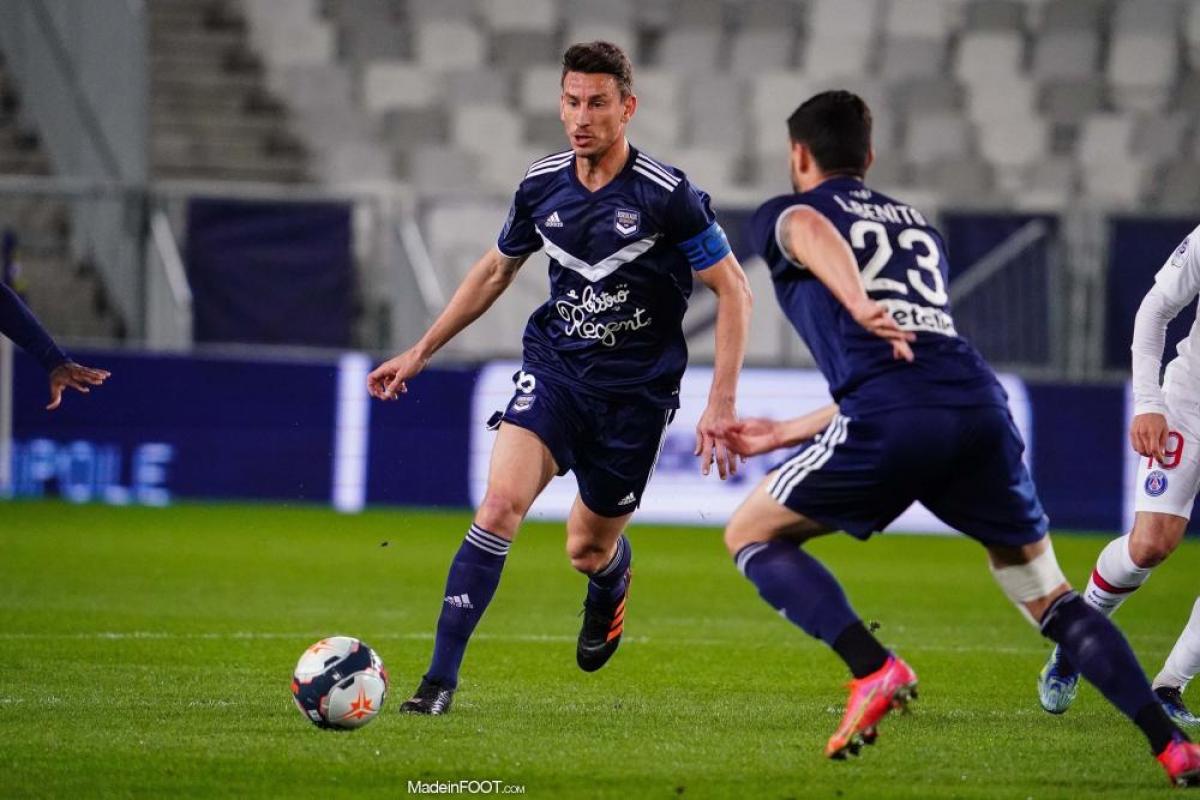 Laurent Koscielny n'est pas dans le groupe des Girondins.