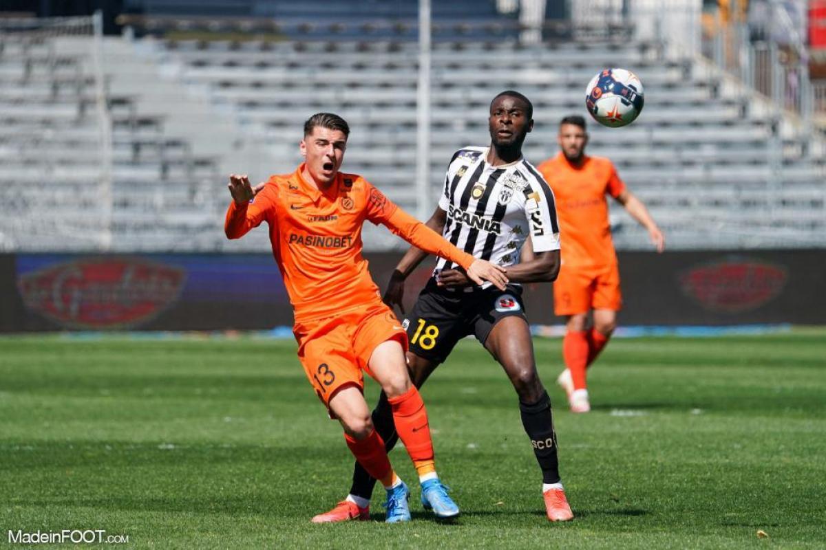 L'album photo du match entre le SCO Angers et le Montpellier HSC.