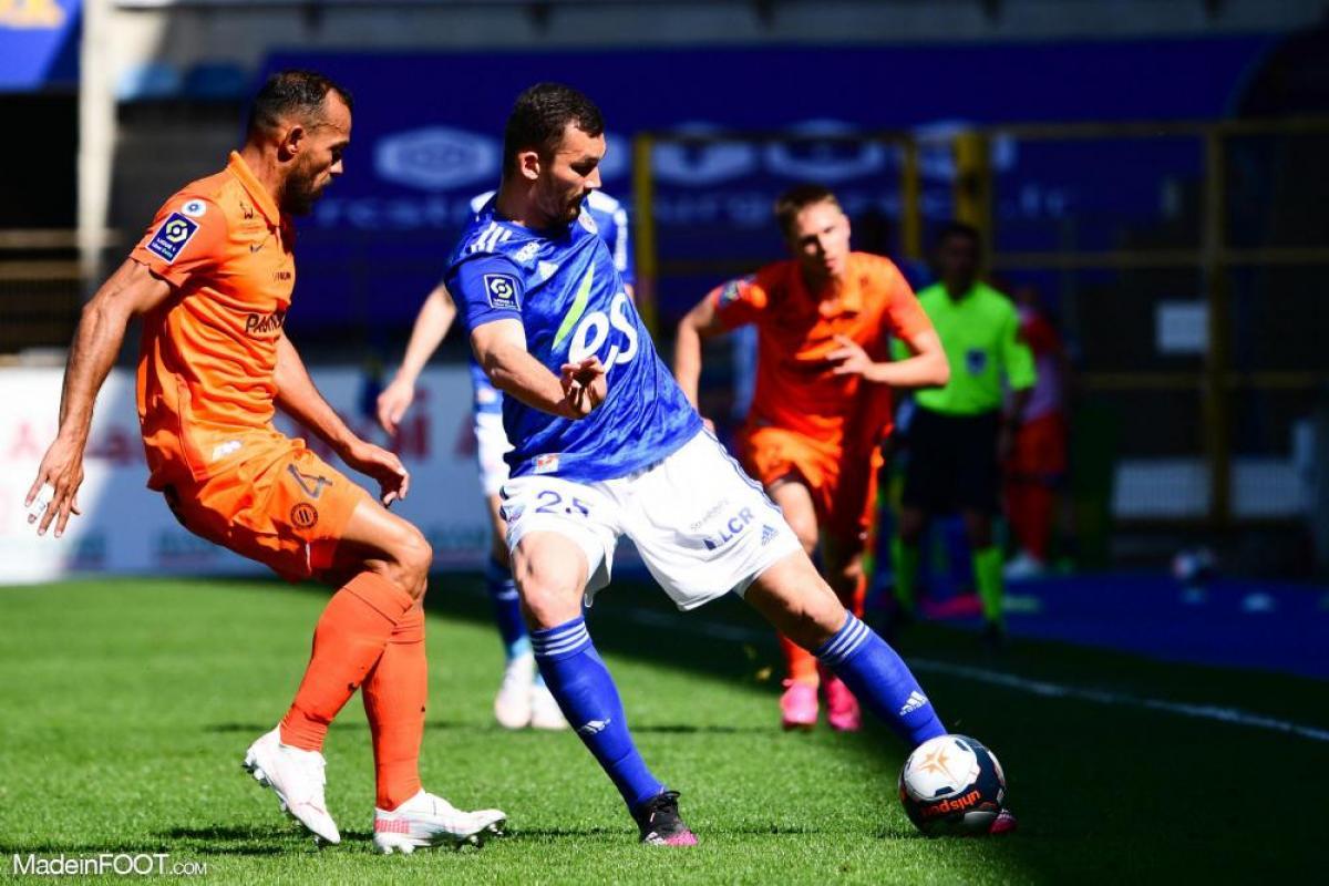 L'album photo du match entre le RC Strasbourg Alsace et le Montpellier HSC.