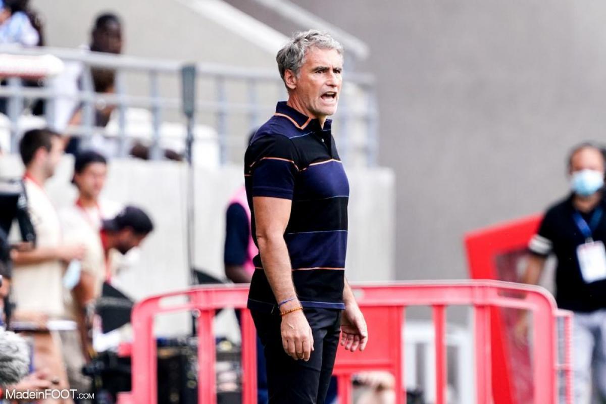 Olivier Dall'Oglio, l'entraîneur du Montpellier HSC.