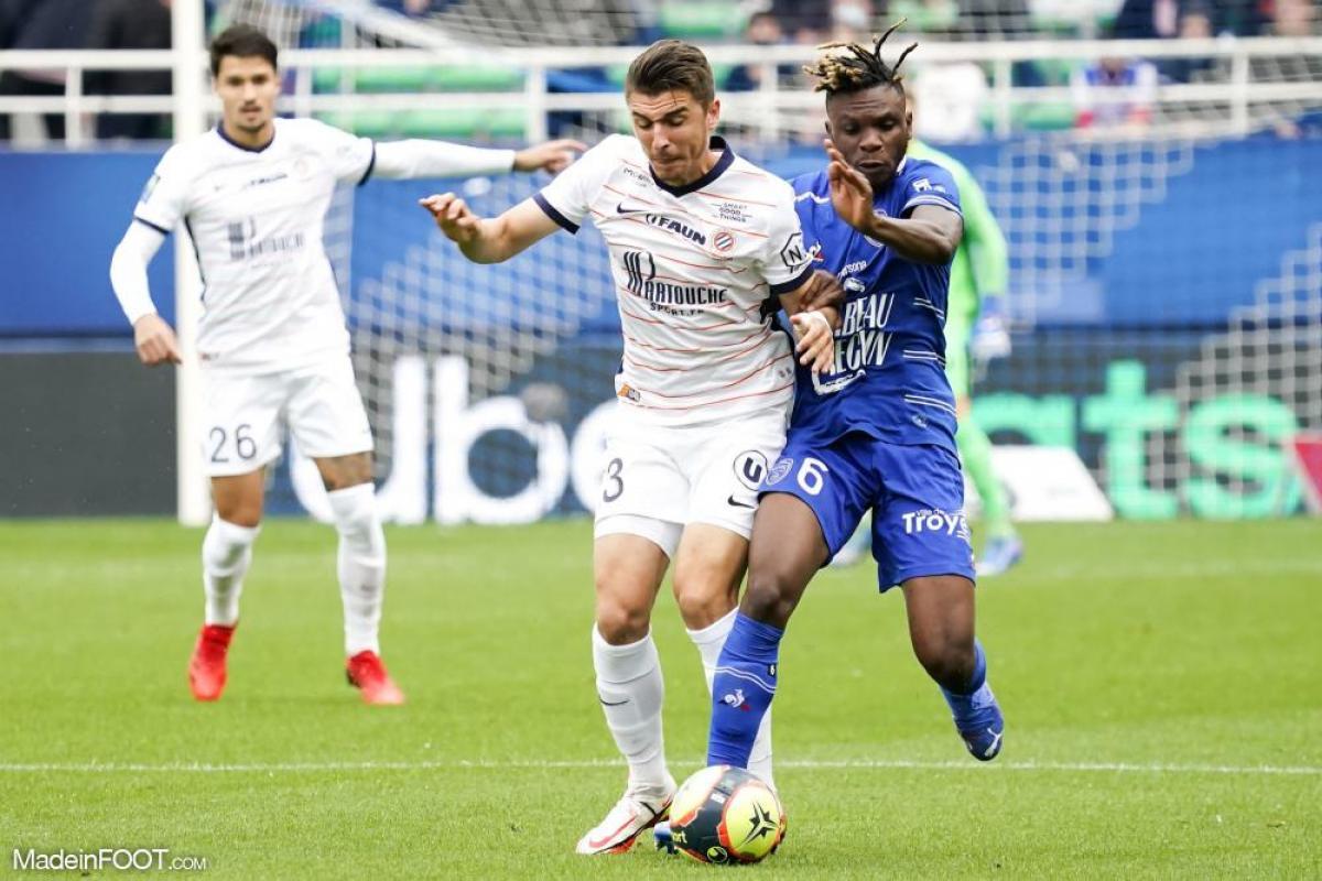 Joris Chotard, le milieu de terrain défensif du Montpellier HSC.