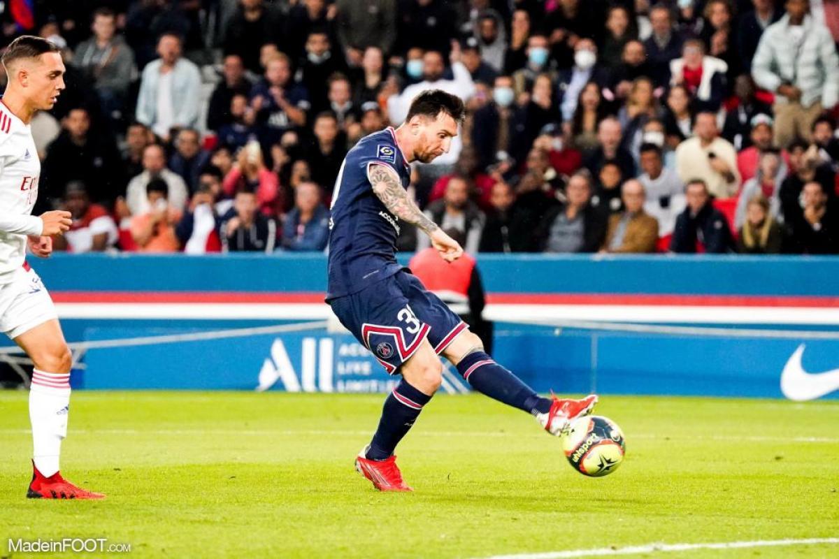 Lionel Messi, l'attaquant argentin du Paris Saint-Germain.