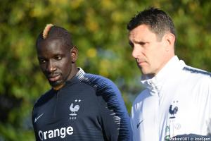 Franck Raviot (France), ici au côté de Mamadou Sakho.